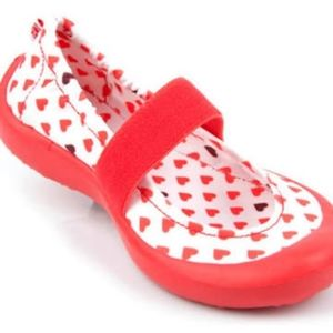 SALE! LUV Dream Flats Sweet Hearts Red Toddler